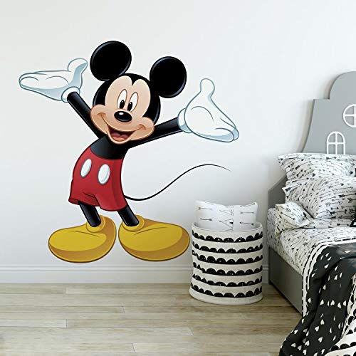 67% Off!!!  RoomMates Mickey Mouse Peel and Stick Giant Wall Decal    #BwcDeals #Deals #dailydeals #MickeyMouse