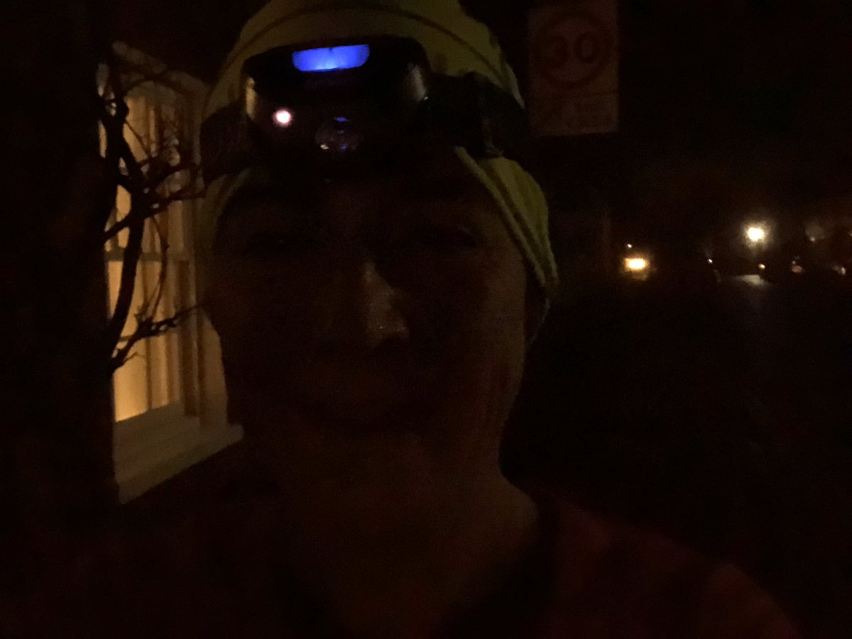 It was very cold this morning! #REDJanuary2020 #REDJanuary #running
