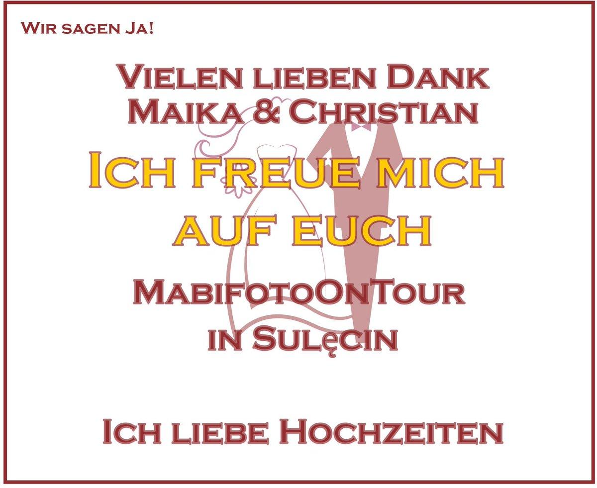 #wirliebenhochzeiten und freuen uns auf euch. Die #FotografenWG. #Hochzeitsfotograf by #Mabifoto #Panketal #zepernick #BernaubeiBerlin #Barnim #Brandenburg #Polenpic.twitter.com/NDNTpK2Zic