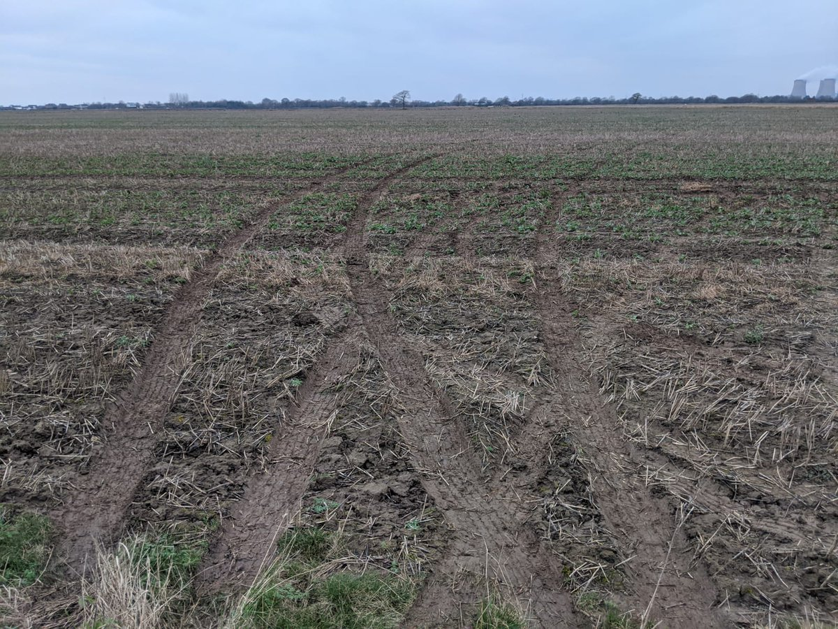 These photos show the shocking level of damage that can be caused to farmers' fields by criminals driving across them. We deployed to this incident immediately and made five arrests. Read more here:  https:// northyorkshire.police.uk/news/major-pol ice-deployment-results-in-five-arrests-for-affray-and-damaging-crops/   …  #OpGalileo @NYPRuralTF @RuralCrimeNtwk<br>http://pic.twitter.com/OVjQQ0ZCMV