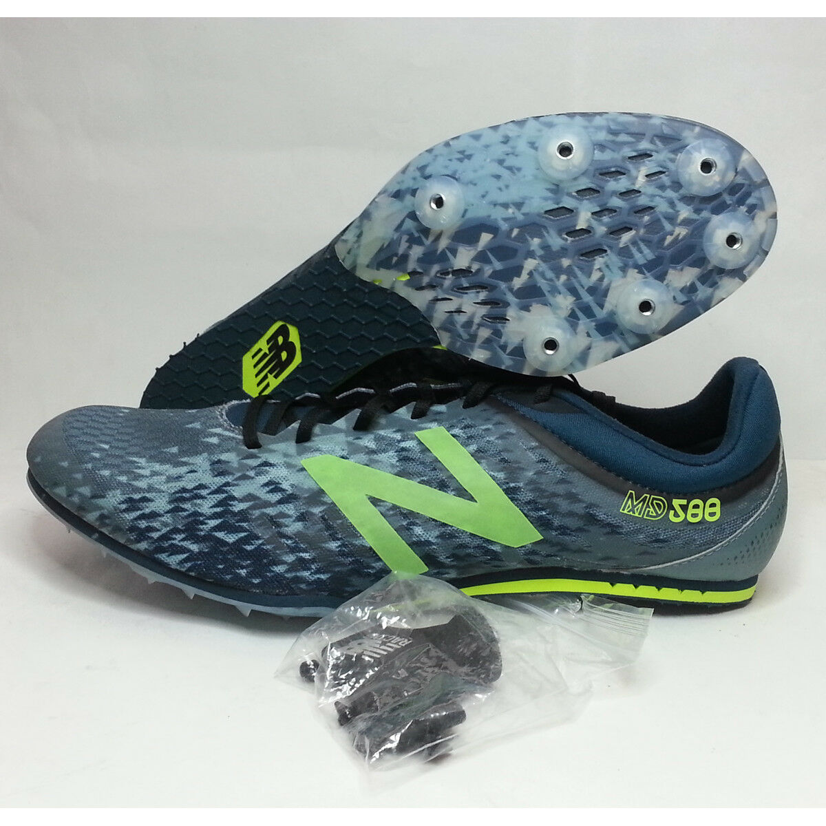 Sale $55.97  New Balance MD588 Men Size 12.5 Racing #running #s