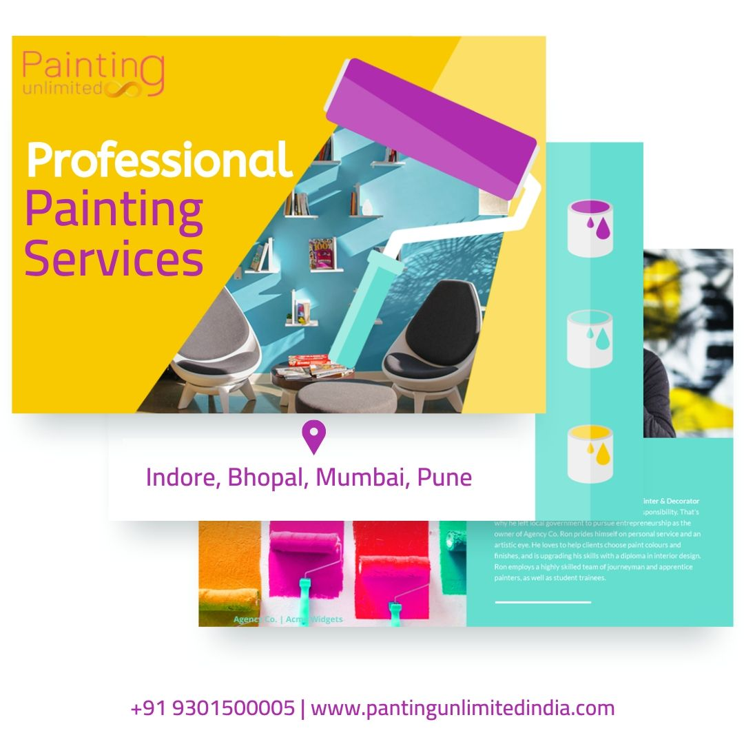We are the best and affordable Painting Contractors in Indore. We have a team of professional and experienced painters. Call us for Painting Services Indore. +91 9301500005   +91 9111119900 http://www.paintingunlimitedindia.com  #homepainting #housepainting #asianpaints #wallpaintingpic.twitter.com/OSvKhefpfz