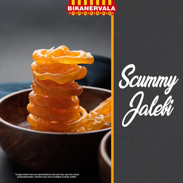 How about some garma garam crispy jalebi? . #Bikanervala #Foodie #FoodIsForever #FoodIsLove #Delicious #Yummy #Tempting #IndianCuisine #IndianFood #ChinesePlatter #SouthIndianFood #FoodOfTheDay #Jalebi