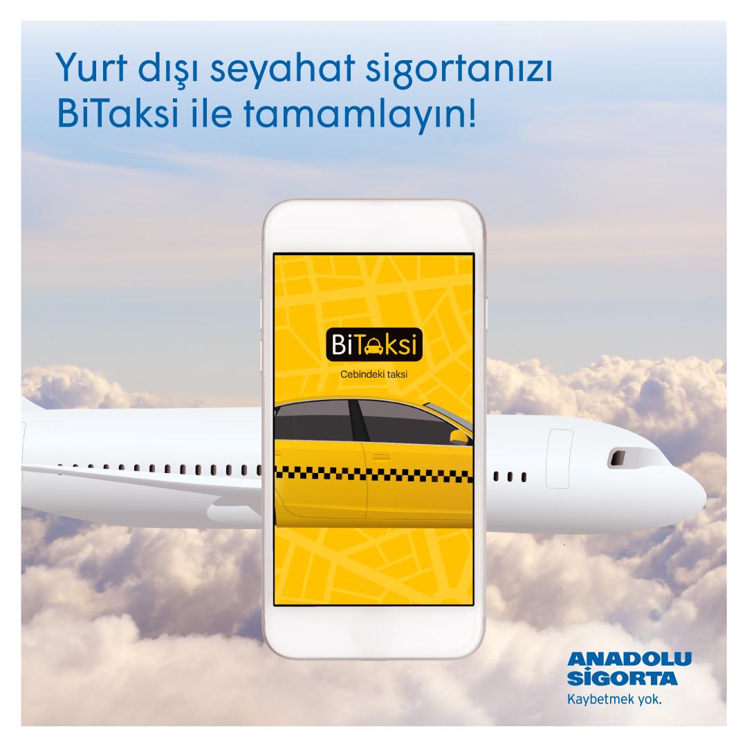 Yurt Dışı Seyahat Sigortanızı online satın alın, anında BiTaksi'de 30 TL indirim kazanın!Detaylı bilgi için👉 https://t.co/6OAXTSmAmH https://t.co/at0gfEByxn