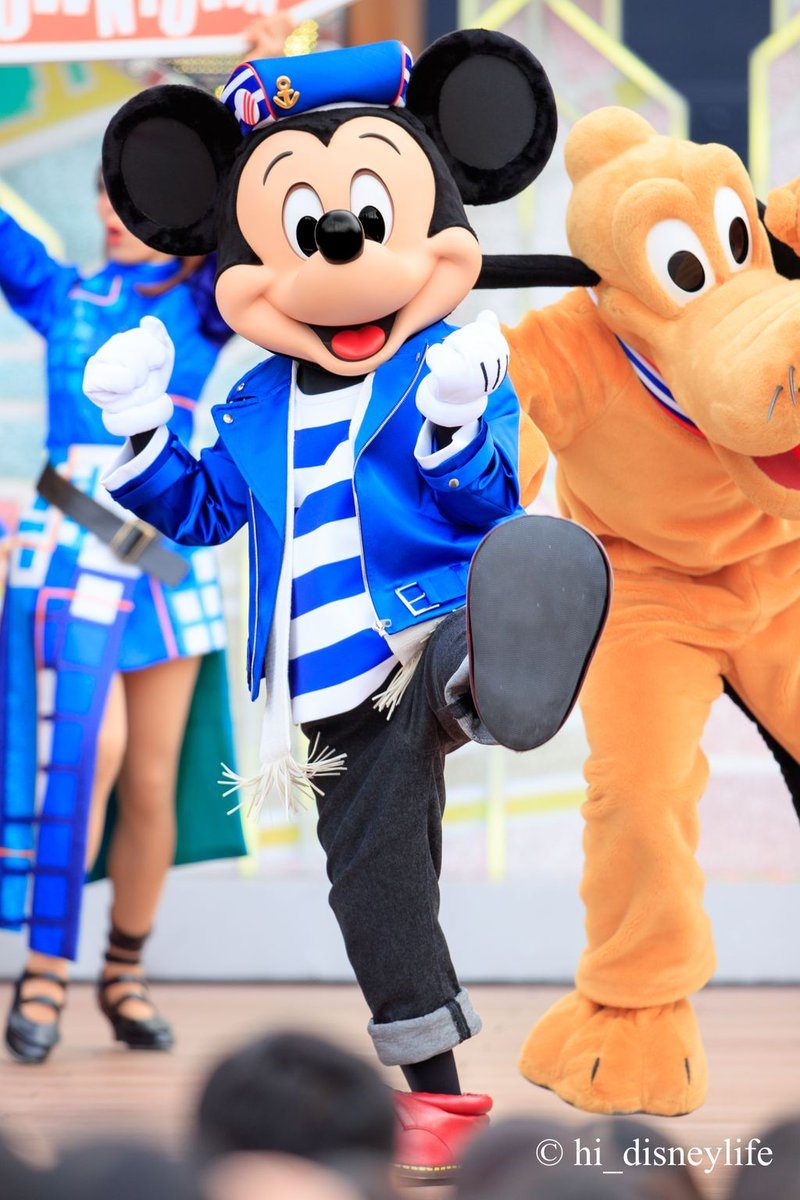 * Hello, New York! * * Mickey Mouse *  私は青×白コス派です💙💙💙 かわいぃぃぃ☺️🤟  #ハローニューヨーク  #ハロニュ  #MickeyMouse