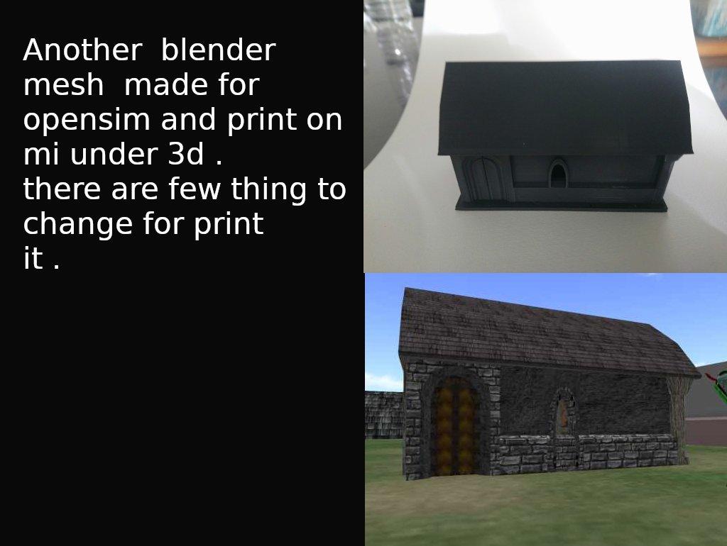 le  mdelisé sur blender et importé sur opensim  et imprimé en 3d .  blender est un super outil !!  sisible sur en #hypergrid à l'adresse : http://grid.hgluv.com:8302:Le Chantier #osgrid #opensim #3dprint #Blender3D #sl pic.twitter.com/ZfsZkTQXsE