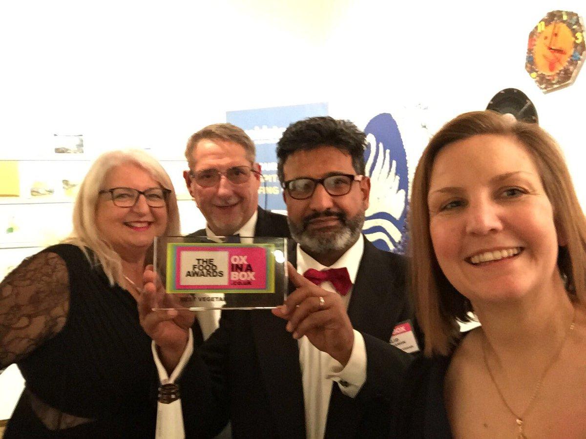 Best Veggie/Vegan winner at the Ox In A Box Food Awards is @TheCinnamonSti1