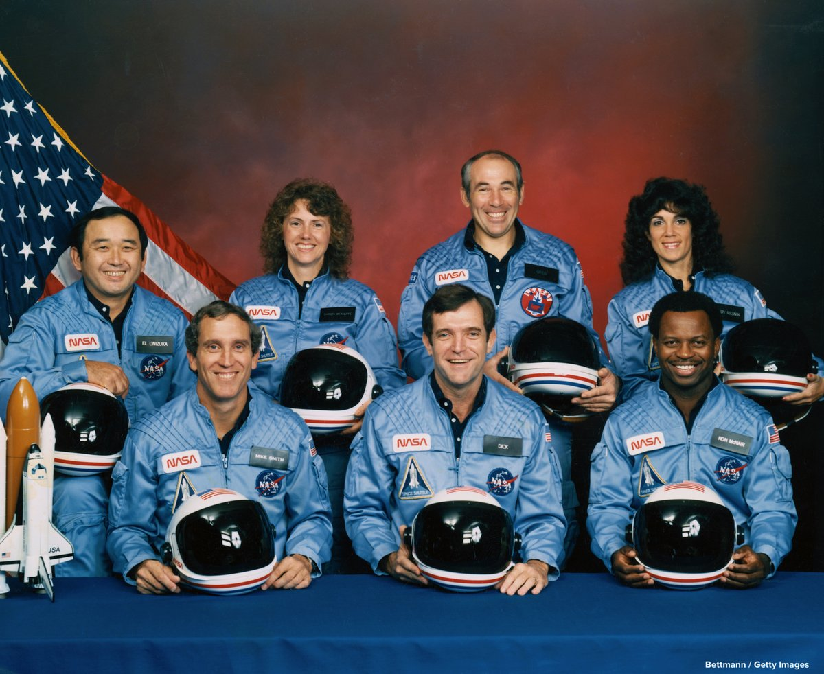 TODAY IN HISTORY: On this day in 1986, seven astronauts died when the space shuttle Challenger exploded 72 seconds after liftoff from Cape Canaveral.