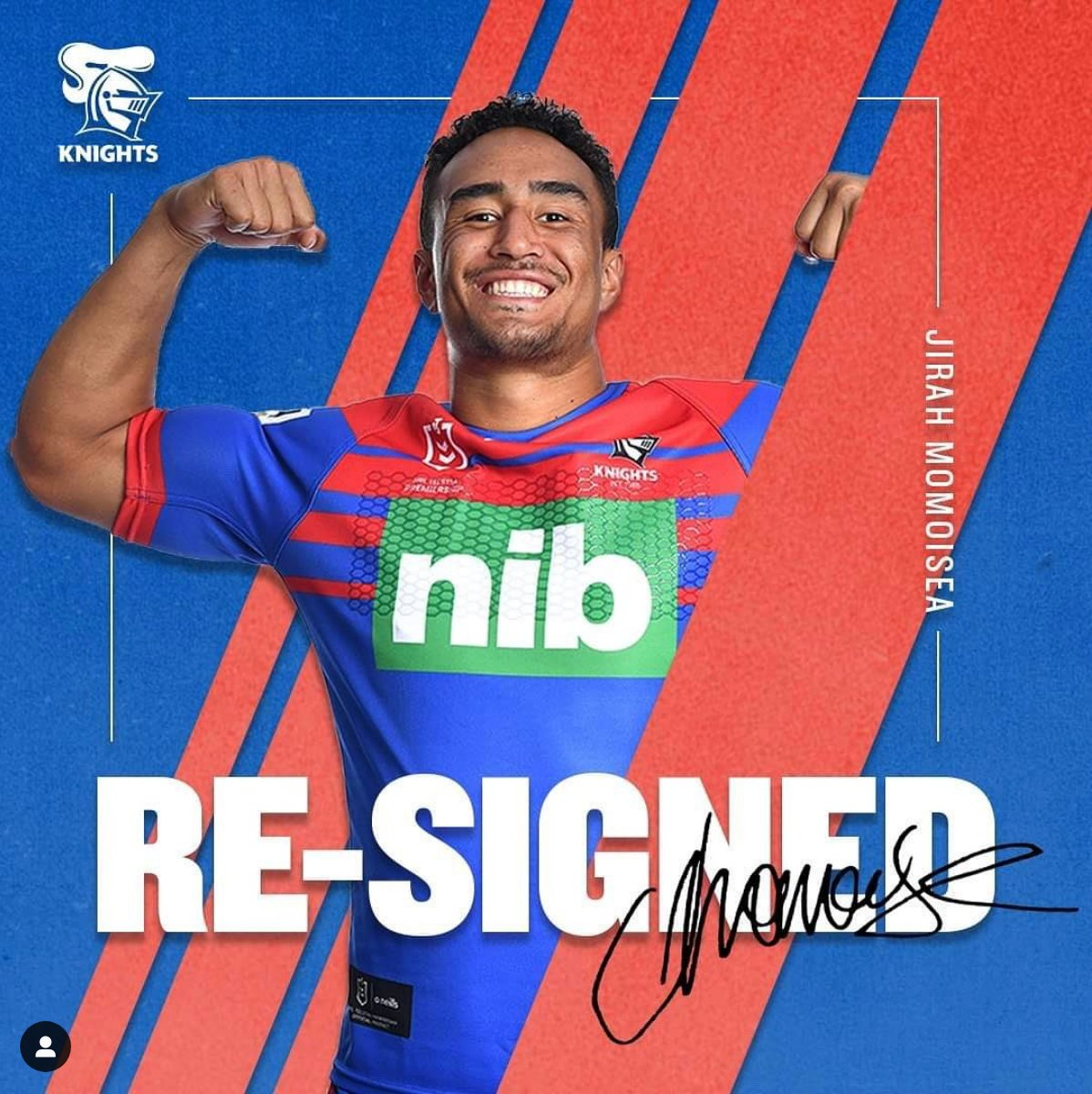 JIRAH!!!  So proud of this kid man - hard work, patience, sacrifice + dedication & now he's just signed his first Top 30 NRL contract on a 3 year deal ❤️