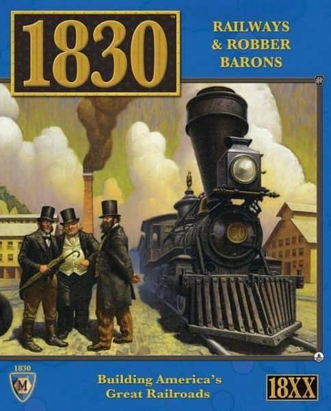 1830: Railways & Robber Barons – Lookout Games – Review https://lttr.ai/MlfQ #18Xx #Jeuxdesociete #Twitter #1830 #Boardgames #Facebook #Juegodemesa #Instagram #Asmodee #Brettspiel #Tabletopgames #Jogodetabuleiro #BoardGameReviewspic.twitter.com/s24777TItG