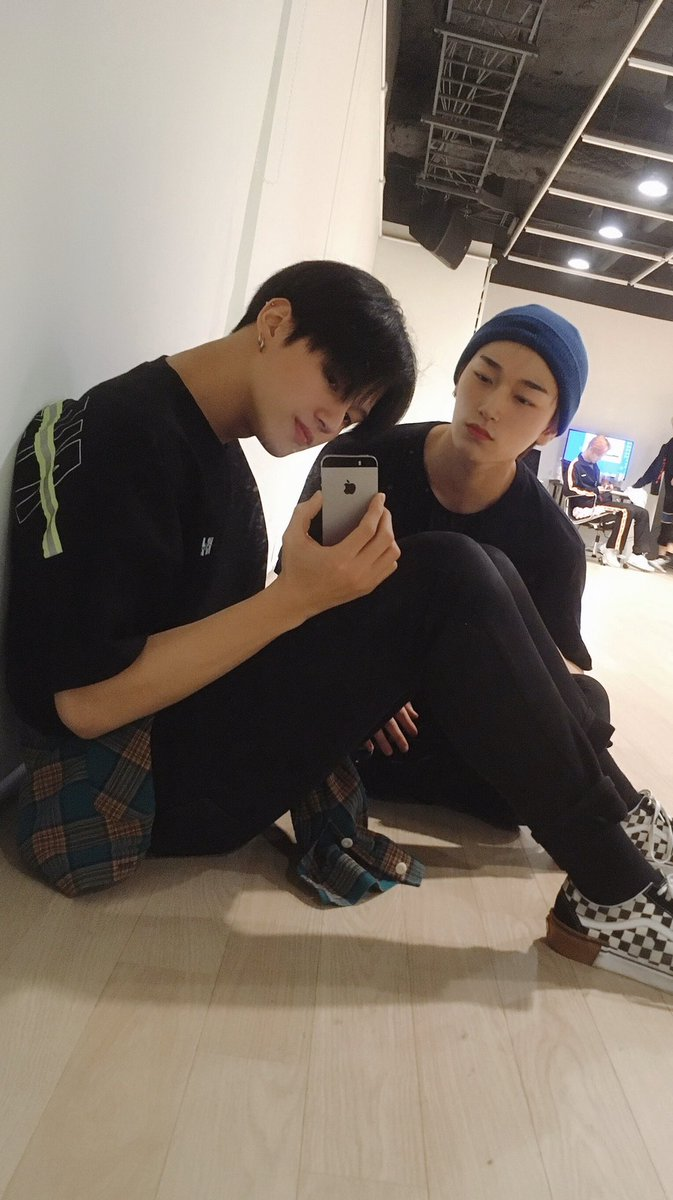 *wooyoung posted with iphone X*  Us: omg finally he got a new phone  *the next day*  Wooyoung: im back with iphone 5s bitch <br>http://pic.twitter.com/VvbycckpZc