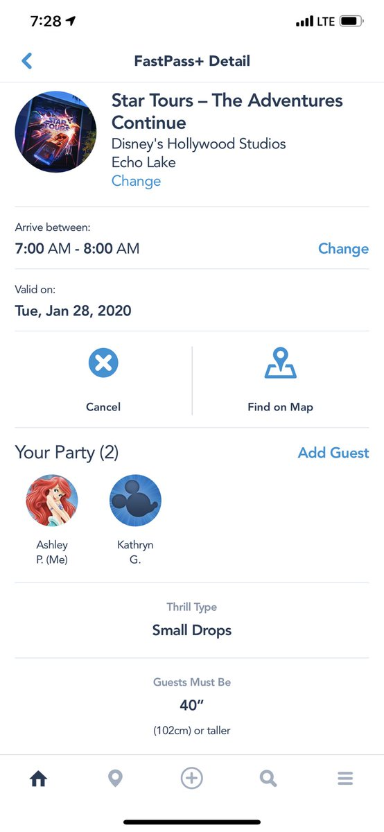 First fast pass of the day. Star Tours. All rides have a decent wait already at 7:30. #parkeologychallenge #EveryRideWDW<br>http://pic.twitter.com/ubH7XDG3KQ