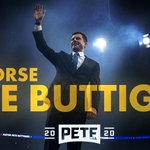 Image for the Tweet beginning: I Endorse @PeteButtigieg for 46th