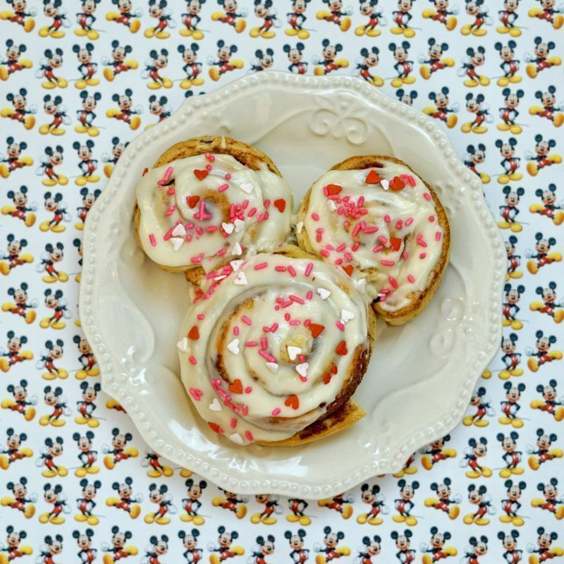 Mickey Mouse Cinnamon Rolls! Simple and Quick #disney #mickeymouse