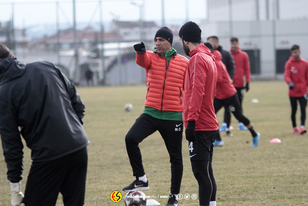 Eskişehirspor'da Bursa mesaisi başladı