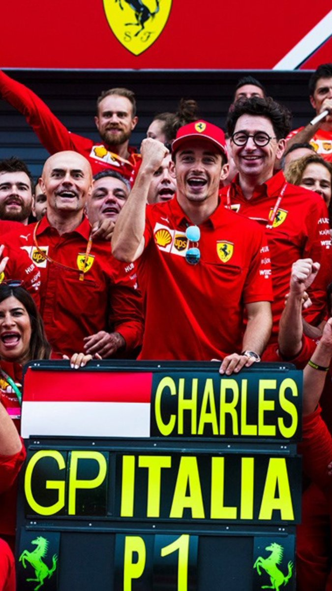 I can't forget it ♥️😊  #ItalianGP #Monza #F1 #Charles16