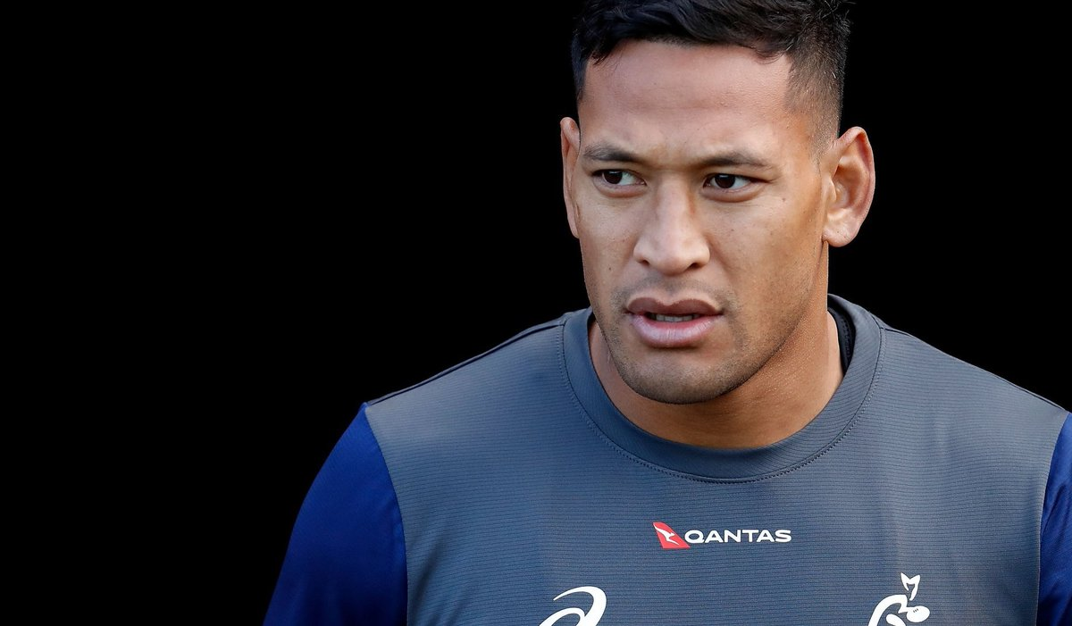 test Twitter Media - Sacked Australia rugby union international Israel Folau has made a switch back to rugby league.  He's joined Super League club Catalans Dragons.  Details: https://t.co/HneFs3mVEI https://t.co/EKcFJ7V3QF