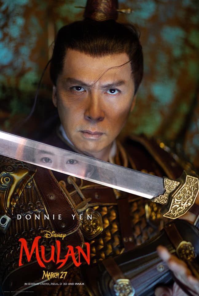 #Mulan Les personages du live action se dévoilent place-to-be.net/index.php/en/c… via @DisneyFR