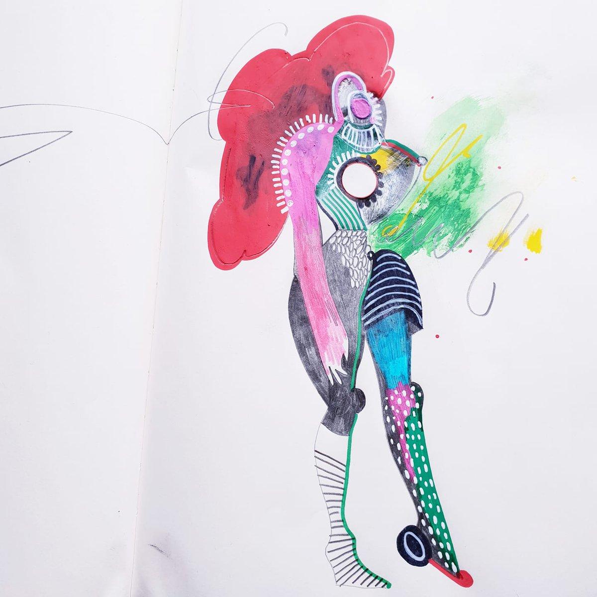 'Warrioress' - a drawing I did a little while ago and still love :-)   * * * * * *  #drawing #illustration #illustrator #art #wallart #artprints #warrior #warrioress #warriorspirit #originalart #metisgebo #artist #fashionillustration pic.twitter.com/WGfQSSJ3aY