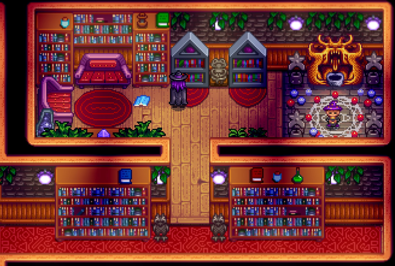 Flashshifter On Twitter The Wizard And Morgan Have Schedules In The Basement Of The Wizard S Tower Where They Read And Practice Magic In 1 10 Stardewvalley Stardewvalleyexpanded Https T Co 93zon20x13 He can't be visited without the mandatory quest, which is unlocked several weeks into the story. the wizard and morgan have schedules in