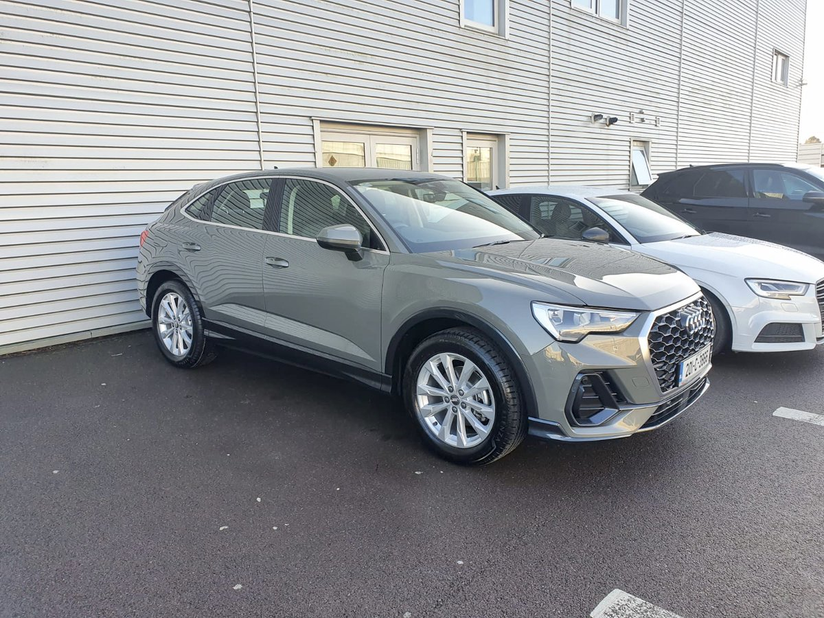 Audi Cork On Twitter This Stunning Q3 Sportback In Chronos Grey Was Collected Today From Sales Executive Bertie In Audi Cork To Find Out More About Our 201 Offers Call Into