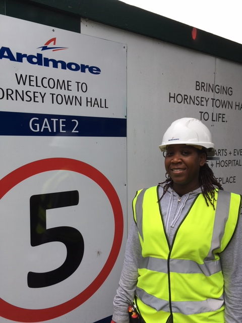 Delighted, through our partnership with @WIConstruction , Building Pathways was able to help #haringey resident Marshalee Mitchell on her journey into a #constructioncareer Read more https://t.co/mzZ7aB4s2k @CITB_UK