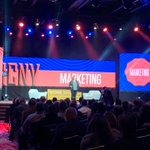"""Real Estate marketing and social media guru, @katielance, has already shared several great pieces of advice at Inman Connect New York. Number one thing to remember? """"Relationships are king"""" but """"content is queen.""""  #ICNY #EVAmericas"""