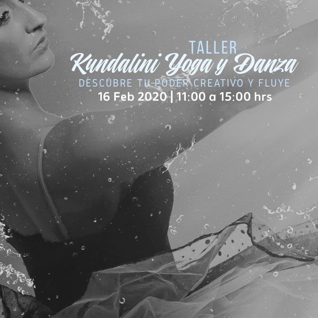 PRÓXIMAMENTE. . Descubre tu poder creativo y fluye. . Taller de Kundalini Yoga y Danza. Por: Joti Kaur y Gian Devta Kaur Sede: Pranayama Escuela Fecha: Domingo 16 de Febrero Hora: 11:00 a 15:00 hrs. . #kundalini #yoga #danza #taller #pranayamaescuelapic.twitter.com/BXj7JWujH8