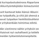 Image for the Tweet beginning: Otin Tehyn verkkosivuilta kätevän muistilistan.  Työpaikkakiusaamista