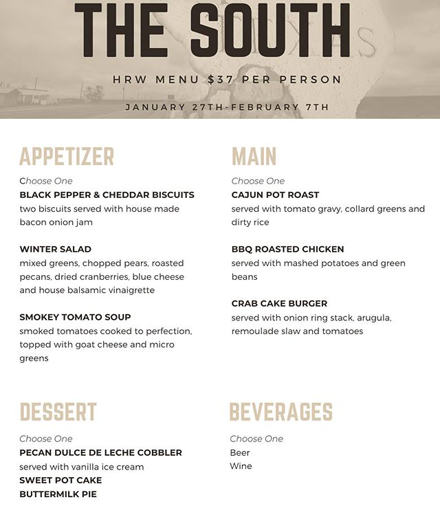 Hudson Restaurant Week will be going on until next week! Make sure to stop by @southhousejc for a delicious $37 dinner!#jerseycity #HudsonRW @hudsonrestwk 📷: @southhousejc