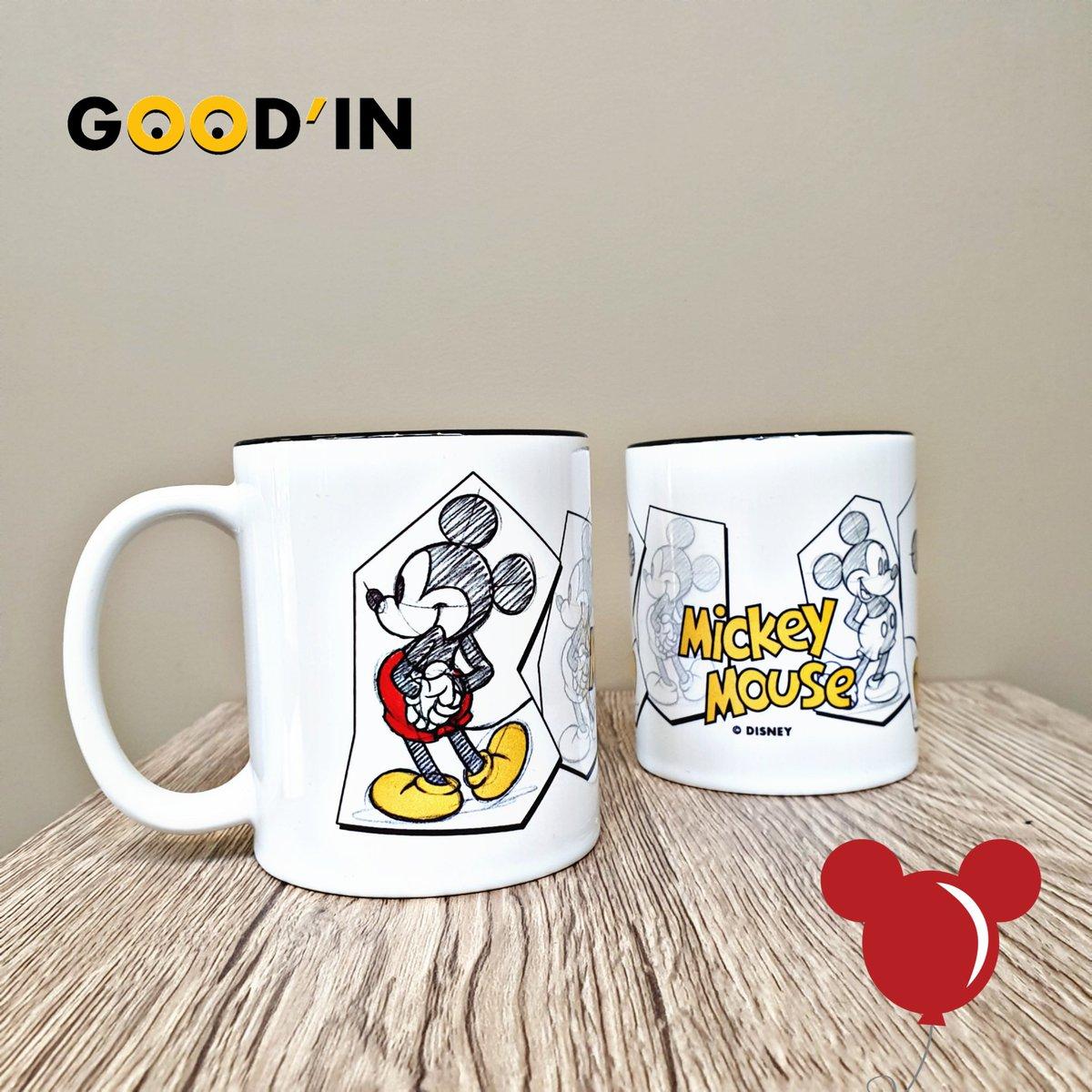 🚨ARRIVAGE GOODIES🚨 Profitez d'une café ou d'un petit-déjeuner #disney dans ce superbe #mug par @_ABYstyle aux couleurs de #mickeymouse en version croquis 🤩 Disponible dès maintenant en boutique et sur  😉