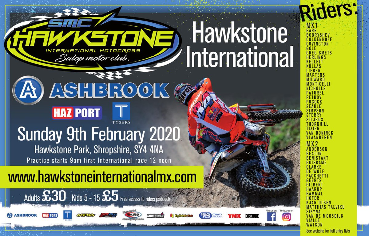 test Twitter Media - Win tickets to Hawkstone International MX with @JKAshbrook!   Read more: https://t.co/VK00GaRzO5 https://t.co/jxTnWCfUxs