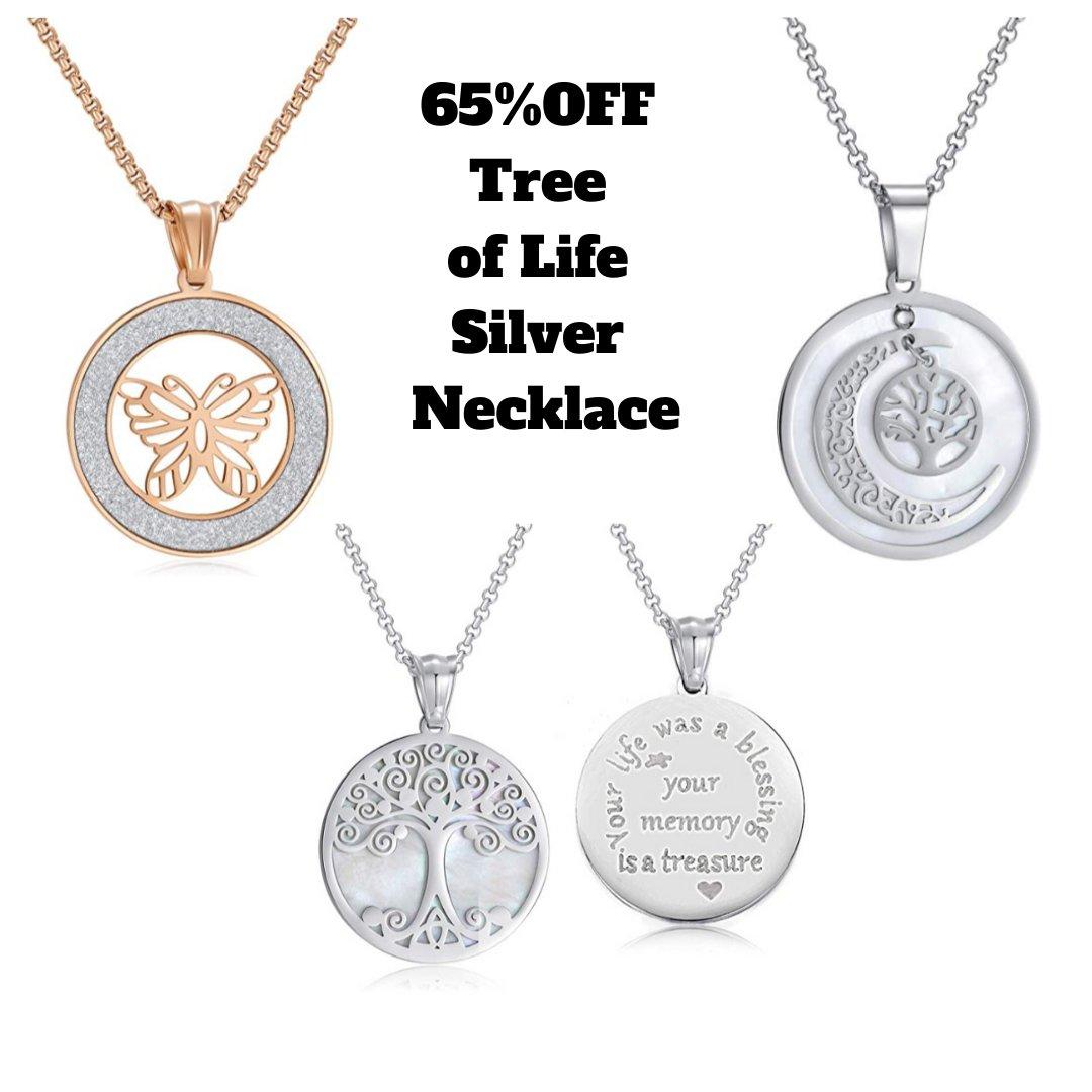 💥‼️65% OFF‼️💥 Tree of Life Silver Necklace PROMO CODE: MXZ4TIGI 📬  ~~~~~~~~~~~~~~~~ 📌 #AD #HELENSDEALS  #SALE #DEALOFTHEDAY #FREEBIES #JANUARY2020 #DISCOUNTS #Amazon