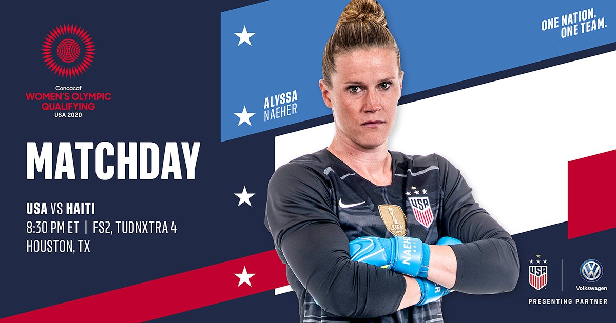 Our favorite words: Gameday. Matchday. The Road to #Tokyo2020 starts TODAY!
