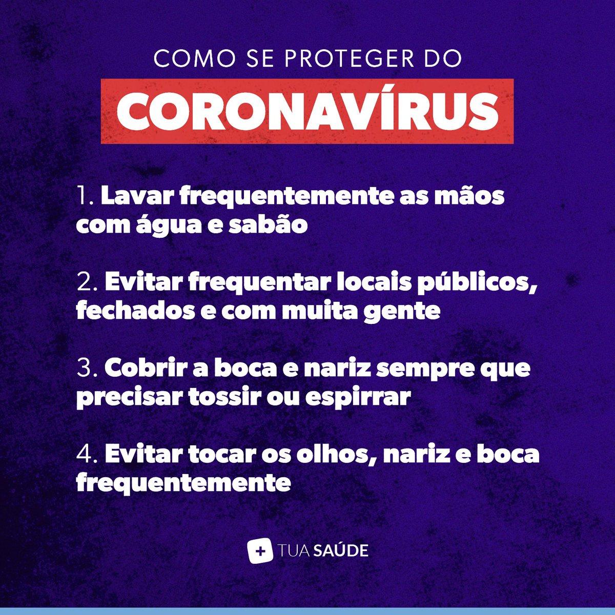 O #coronavírus não chegou ao Brasil nem a Portugal e, por isso, é preciso ter calma! ⚠️ Mas mantenha vigilância! Se precisar se proteger, estas são algumas medidas práticas. #TuaSaúde