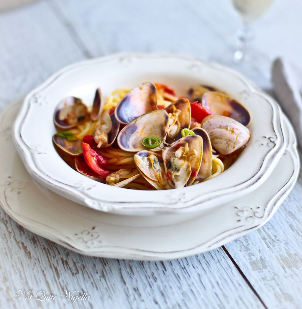 🍝Spaghetti with mussels, find this and other #healthyrecipes in app #naturalremedies Android  iOS  #healthyrecipes #healthydiet #healthyeating #eathealthy #healthtips #healthyfood #healthylifestyle #healthyliving #nature