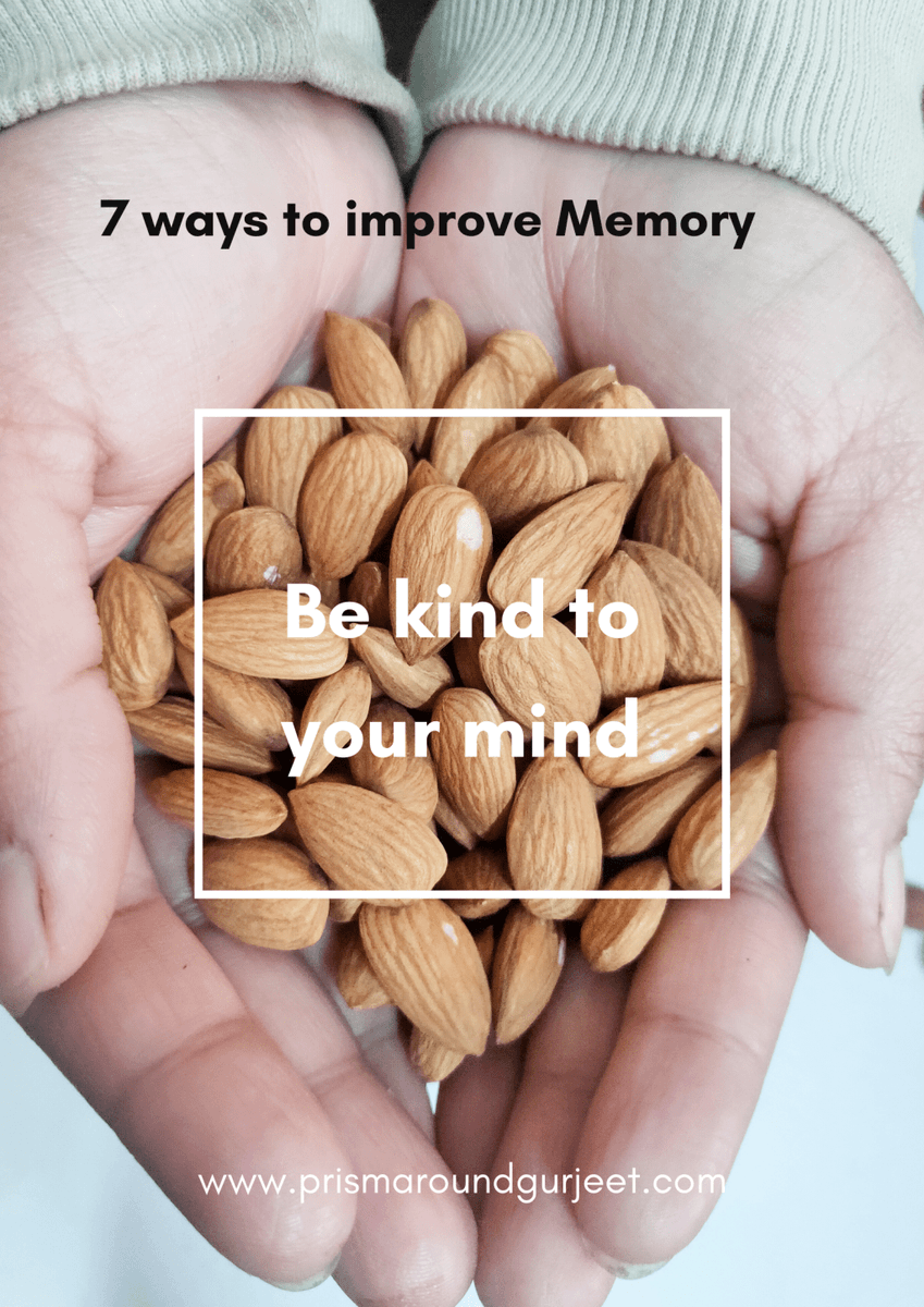 7 WAYS TO IMPROVE YOURMEMORY http://prismaroundgurjeet.com/7-ways-to-improve-your-memory/…