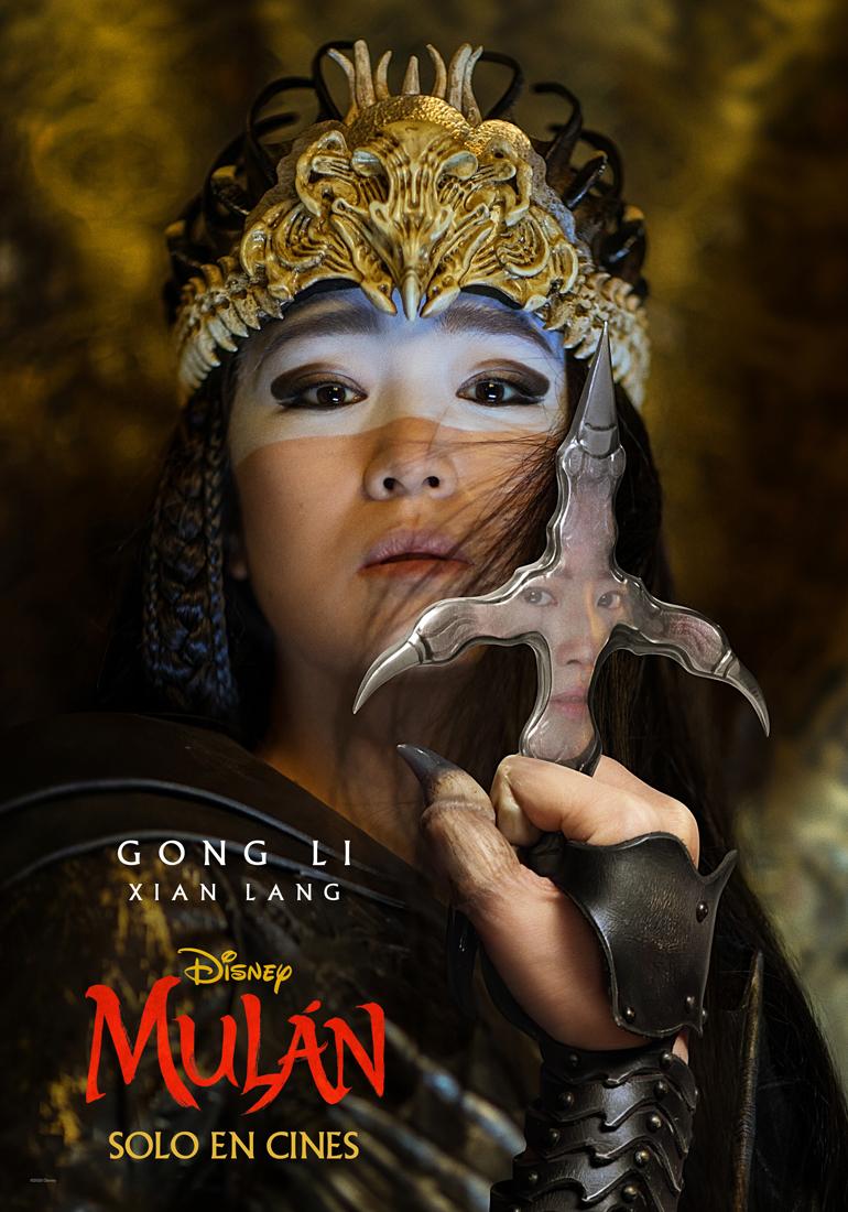 Estos son los nuevos pósters de los personajes de #Mulán, que llega a los cines el 27 de marzo 💥🎬📽️ ¿Verás este live-action de @Disney? 🗡️🐉🀄