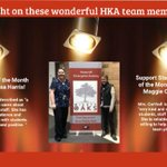 Image for the Tweet beginning: Congratulations to our HKA staff