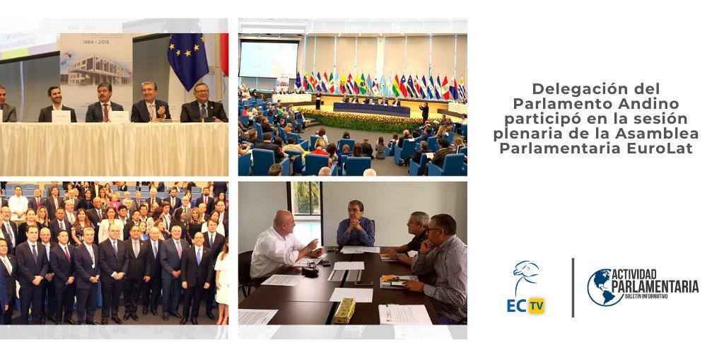 #ActividadParlamentaria | Te invitamos a ver en nuestro #Canal #ElCóndorTV el balance general de las #SesionesPlenarias de #Noviembre - #Diciembre, allí encontrarás información sobre pronunciamientos aprobados y actividades de los #ParlamentariosAndinos.