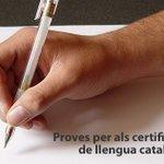 Image for the Tweet beginning: Nova convocatòria a les proves