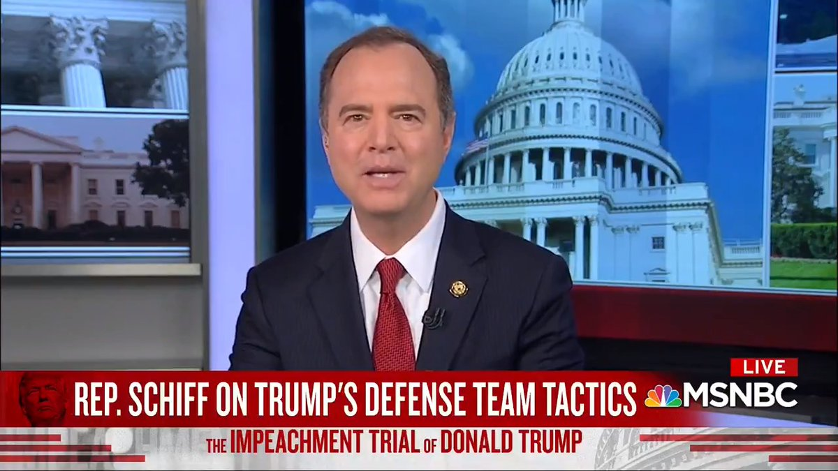 Image for the Tweet beginning: Trump's defense boils down to