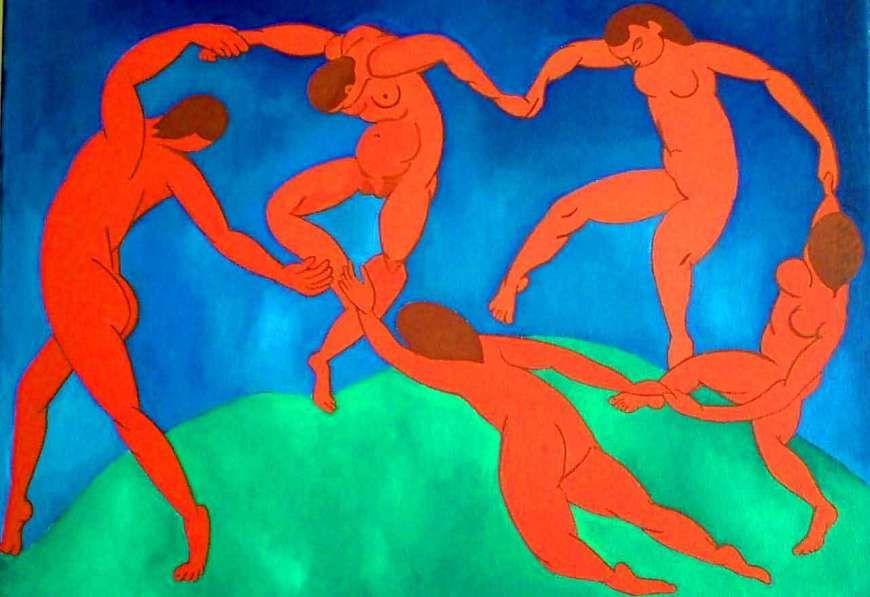 Le Qoqo On Twitter Pourquoi L Oeuvre La Danse D Henri Matisse Nous Secoue Le Qoqo C Est Une Oeuvre Caracteristique Du Fauvisme Avec 3 Couleurs Vives Rouge Pour