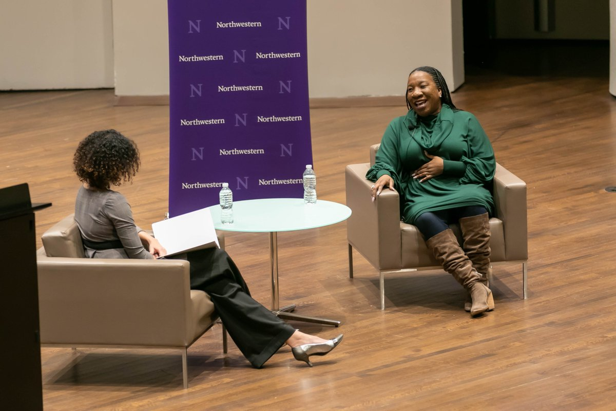 "More than a decade before the #MeToo hashtag, @TaranaBurke created the @MeTooMVMT to provide resources and support to survivors of sexual assault. ""We need a real understanding of what it looks like to survive,"" she said to a packed Thorne Auditorium at her MLK Dream Week event."