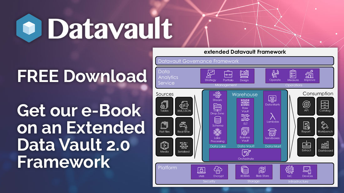 #Datavault has extensive experience deploying #DataVault2 solutions.  This Framework is a result of our work on many projects in different industries. Download it today #FREE Here http://bit.ly/2ILCsPb  #Data #DataArchitecture #DataFramework #DataWarehouse #Agile #EDW @dlinstedtpic.twitter.com/O7bI7cfTg3