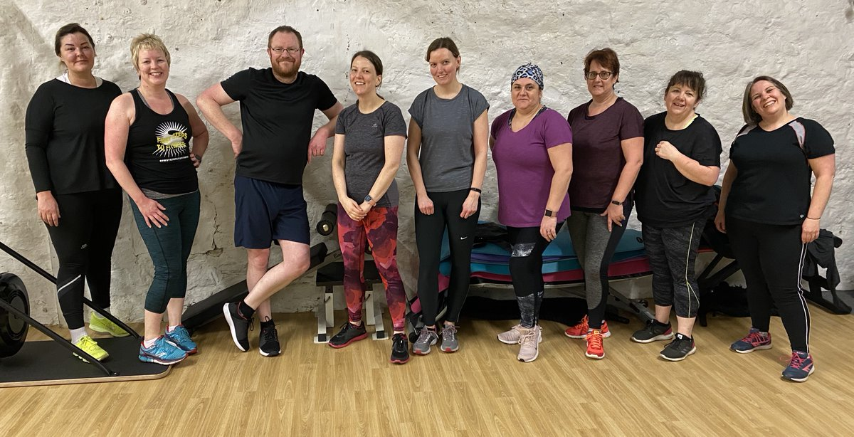Our 6am First Steps to Fitness clients after their 6am session this morning... smashed it! #sparkhealth #gym #community #lowfell #nefollowers #sparkisforeveryone