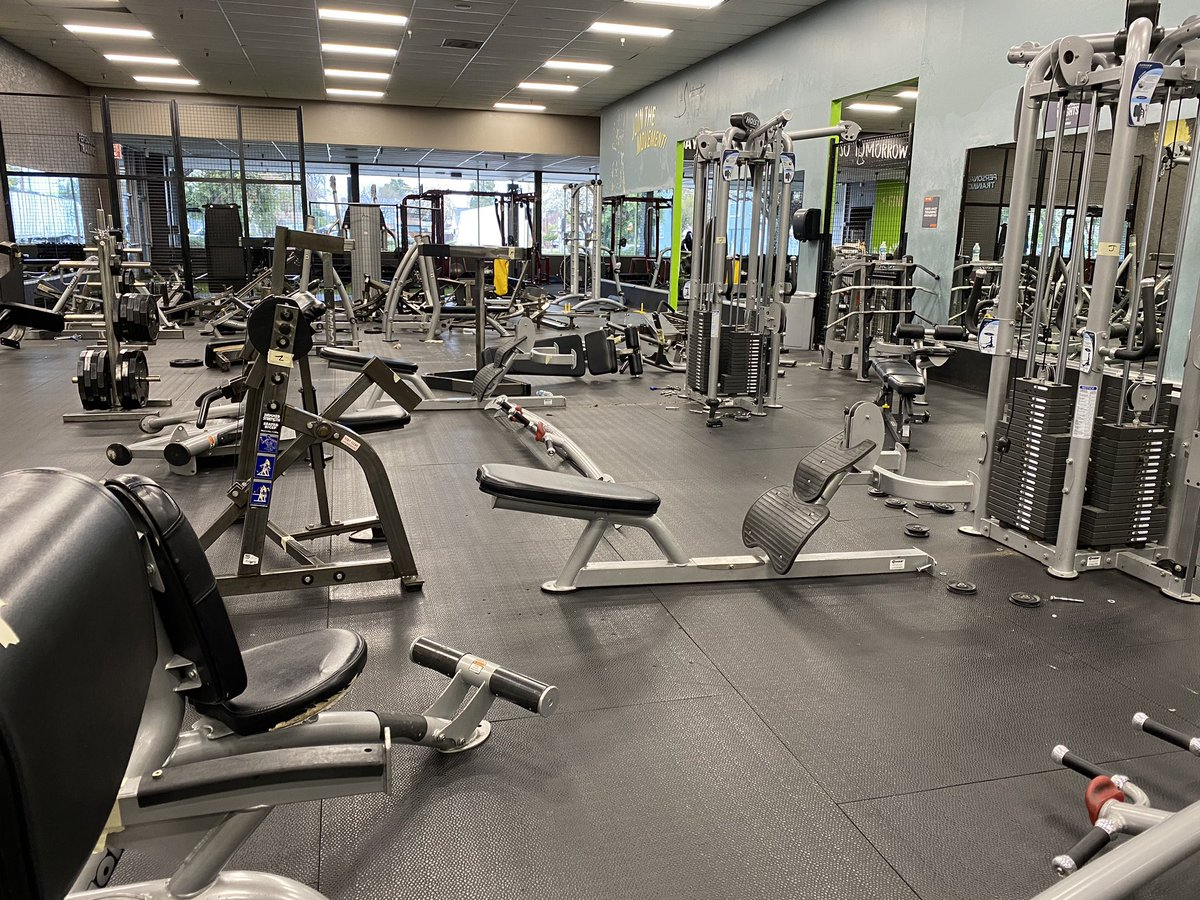 Some see #fitness equipment laying around.. I look at it as a beautiful mess. Let's load it up! #gym #fit #goals #healthy #ceo #TuesdayThoughts