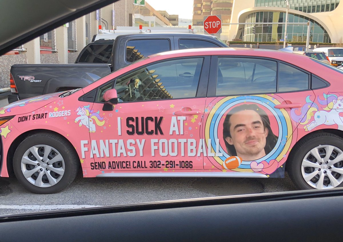 Photos: Fantasy Football Loser's Punishment Is Going Viral