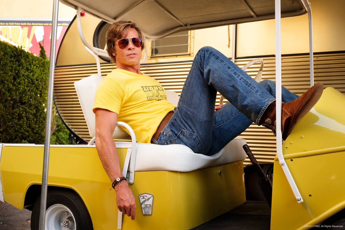 Brad Pitt's performance in #OnceUponATimeInHollywood is the second role to earn him a Best Supporting Actor nominee. What was the first? <br>http://pic.twitter.com/7hQl8EgB7H