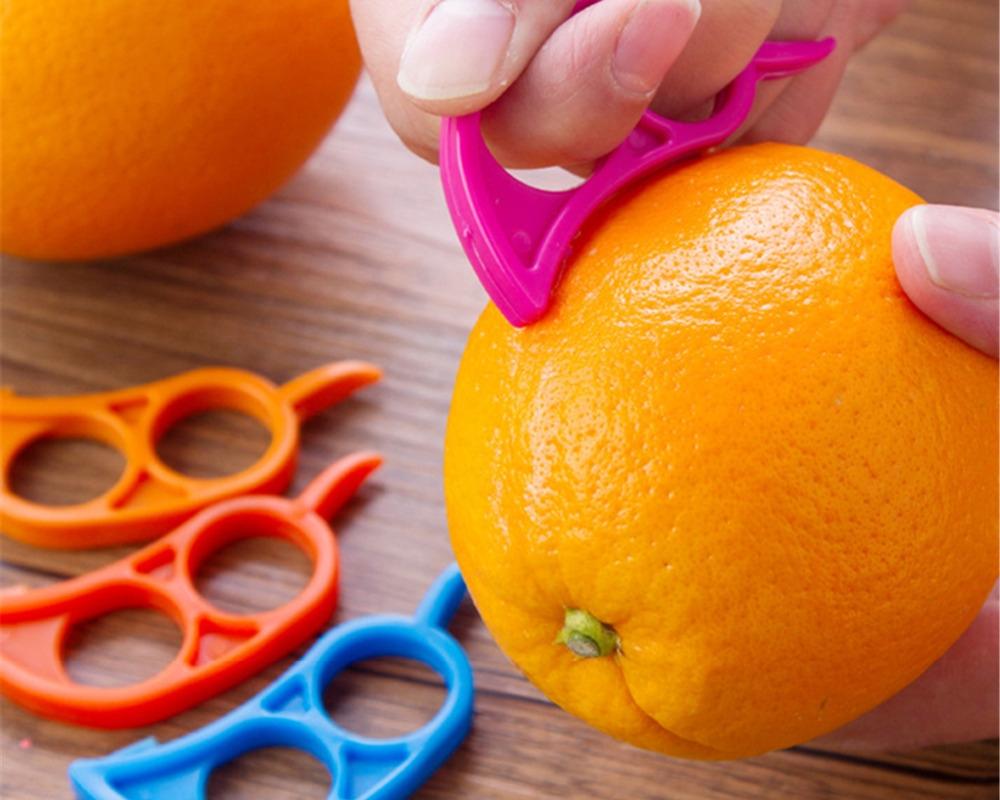 #beautiful #dress Colorful Plastic Citrus Fruits Peeler